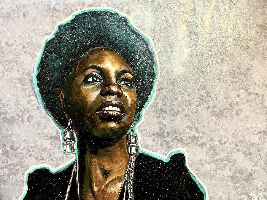 Nina Simone by Joel Tesch