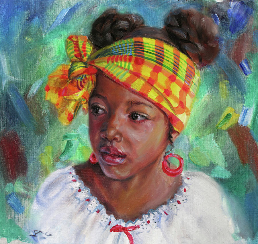 Caribbean Painting - Nisi by Jonathan Gladding
