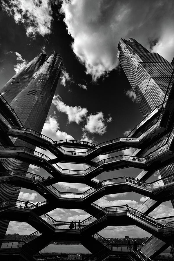 Hudson Yards Photograph - The Ascent by Jessica Jenney