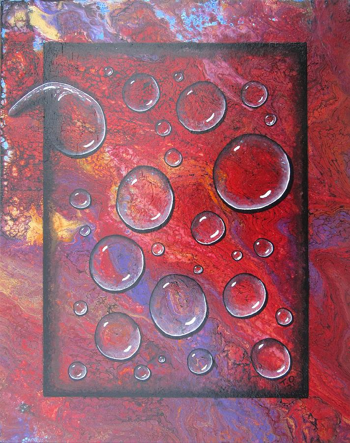 No 24 I Caught My Tears And Framed Them For All The World To See Painting