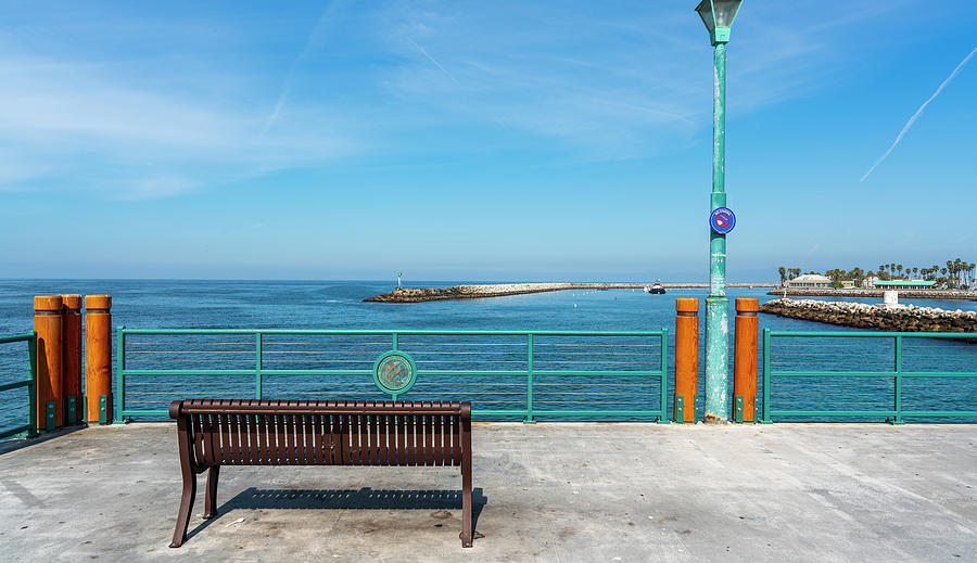 Pier Photograph - No Fishing by Mike-Hope by Michael Hope