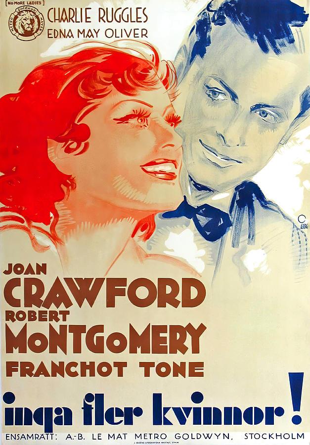 no More Ladies, 1935 Mixed Media