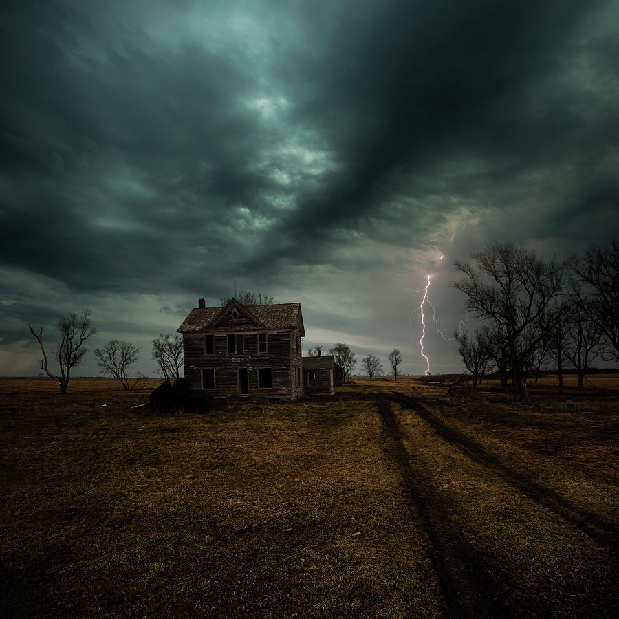 Lightning Photograph - No Ones There by Aaron J Groen