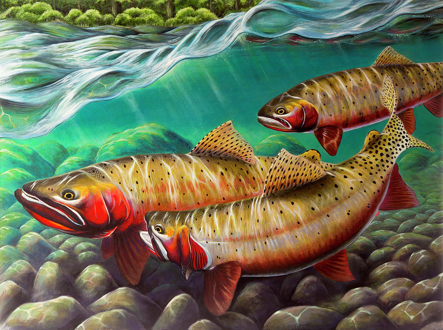 Cutthroat Painting - No Strings Attached by Nick Laferriere
