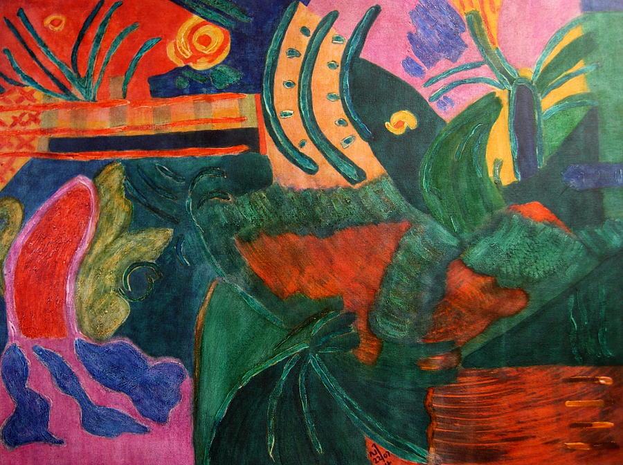 No.321. Painting by Vijayan Kannampilly