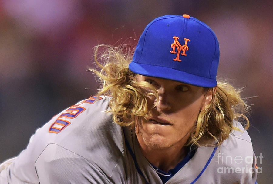 Noah Syndergaard Photograph by Drew Hallowell