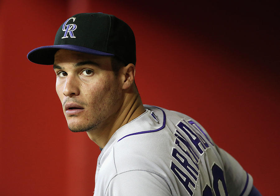 Nolan Arenado Photograph by Christian Petersen