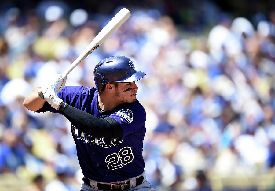 Nolan Arenado Photograph by Harry How