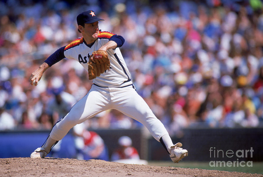 Nolan Ryan Photograph by Ron Vesely