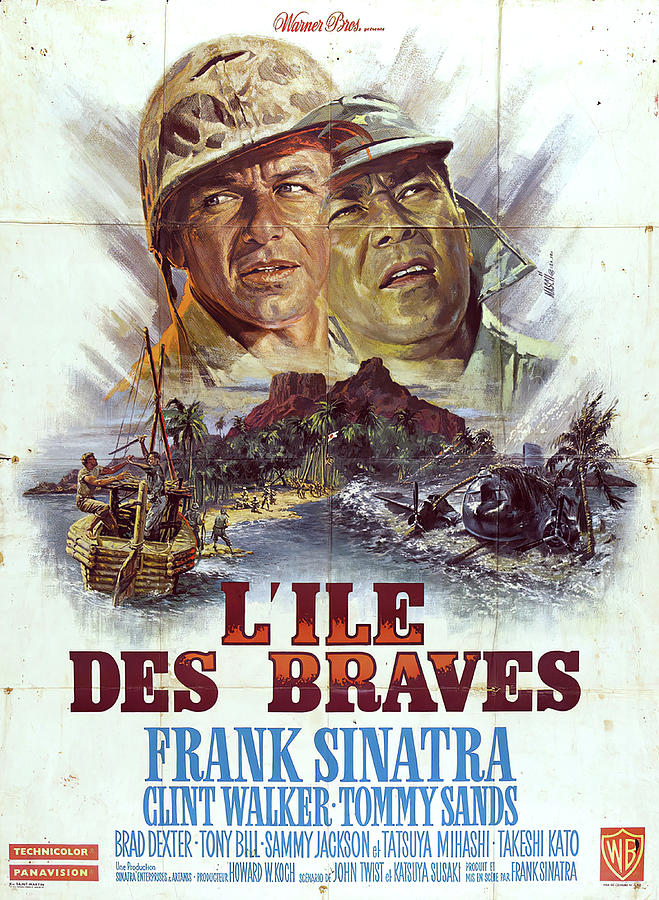 none But The Brave, With Frank Sinatra, 1965 Mixed Media