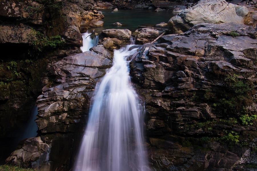 Nooksack Falls Waterfall by Yulia Kazansky