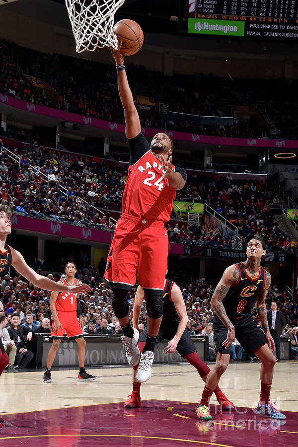 Norman Powell Photograph by David Liam Kyle