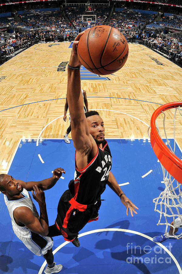 Norman Powell Photograph by Fernando Medina