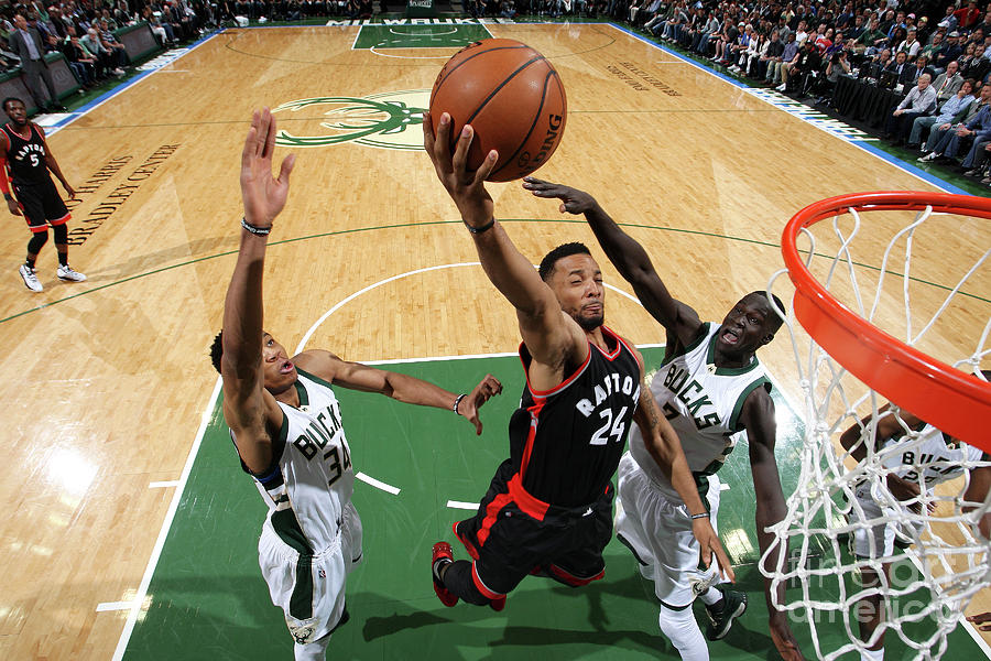 Norman Powell Photograph by Gary Dineen