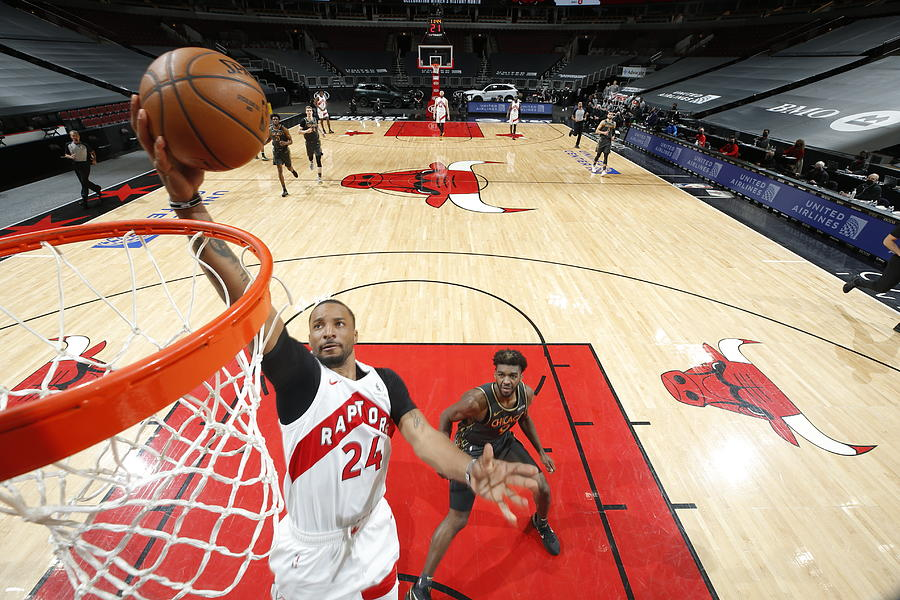 Norman Powell Photograph by Jeff Haynes