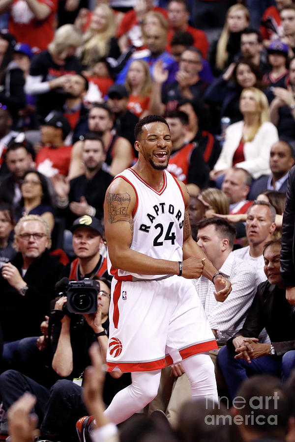 Norman Powell Photograph by Mark Blinch