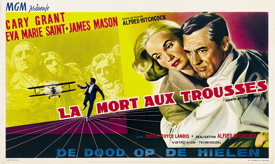 north By Northwest, 1959 Mixed Media