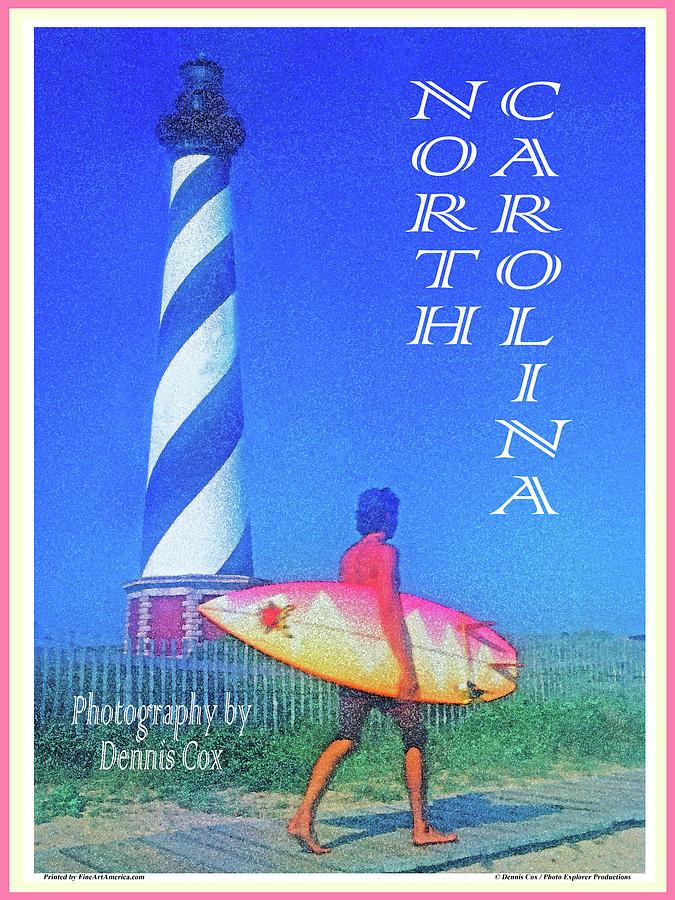 North Carolina Travel Poster Photograph
