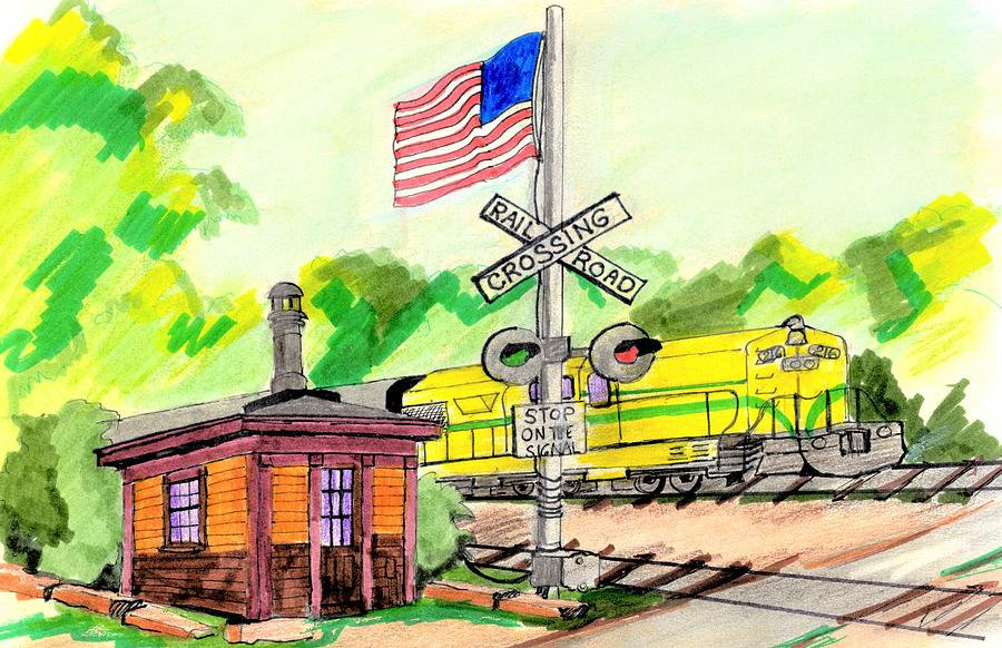 North Conway Signal Shed Drawing