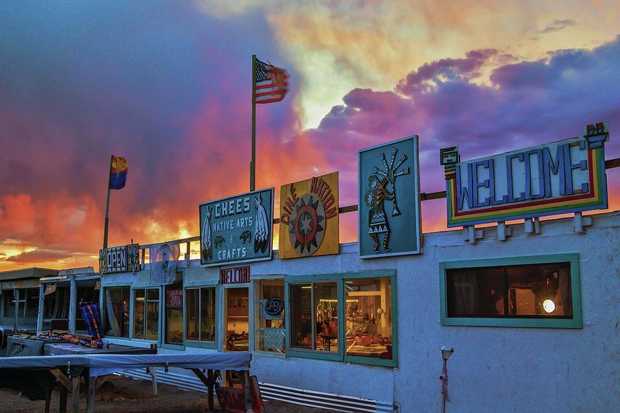Northern Arizona Sunset by Marisa Geraghty Photography