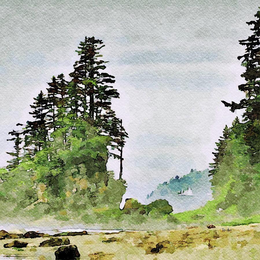 Northern California Coast Painting