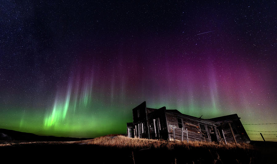 Northern Lights Aurora Photograph