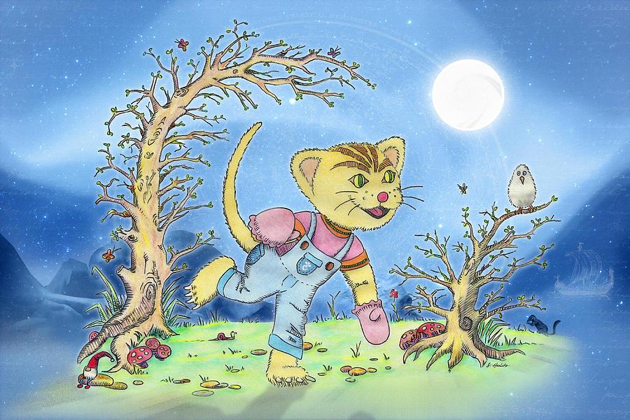 Fairytale Mixed Media - Nostalgia by Siegfried Herlitz