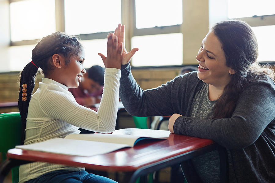 Nothing fosters learning like encouragement Photograph by LumiNola