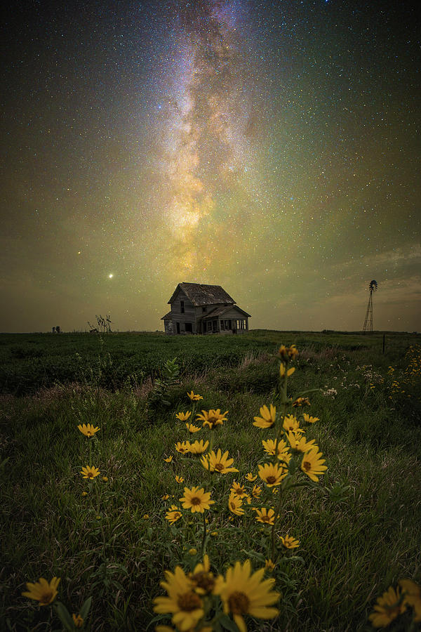 Great Rift Photograph - Nothings Gonna Change My World by Aaron J Groen