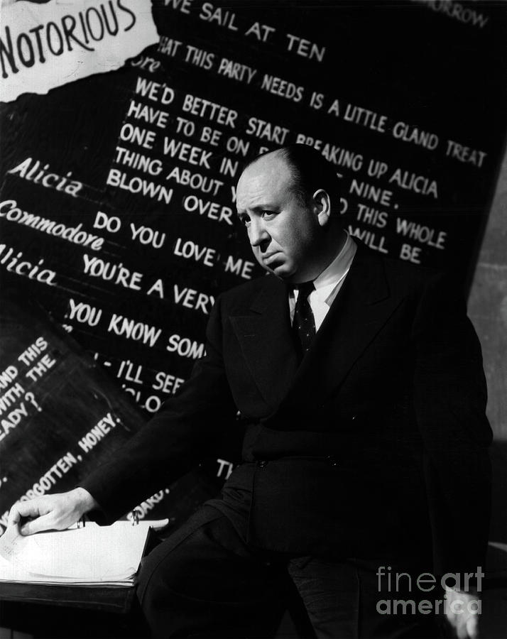 Notorious - Alfred Hitchcock by Doc Braham