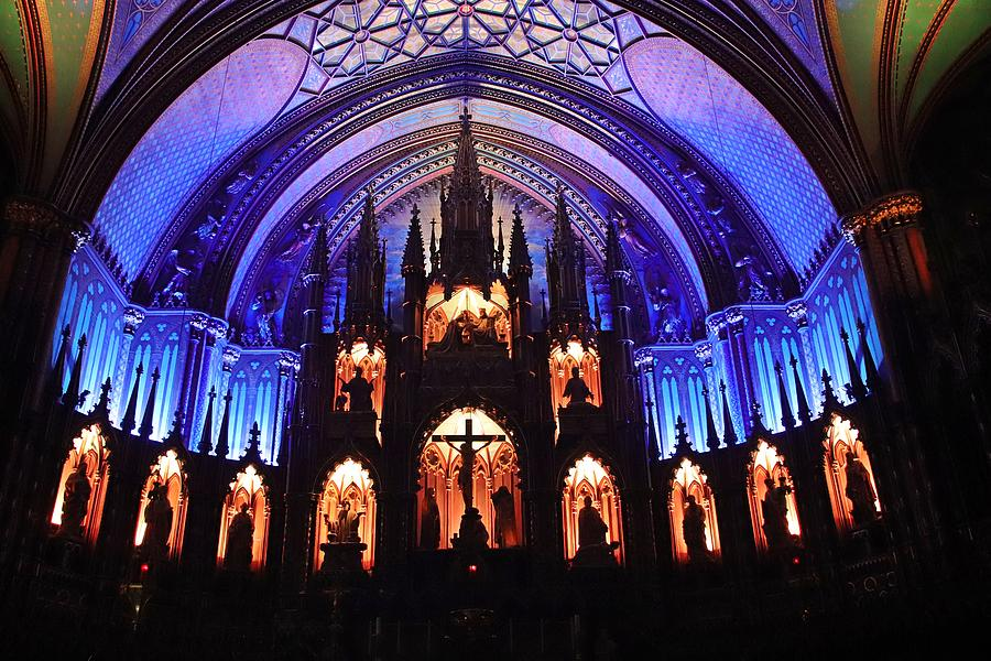 Notre-Dame Basilica Montreal by Marlin and Laura Hum