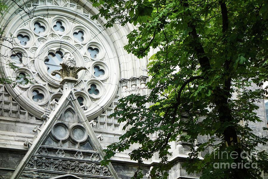 Notre-Dame Basilica of Montreal Exterior by Wilko Van de Kamp