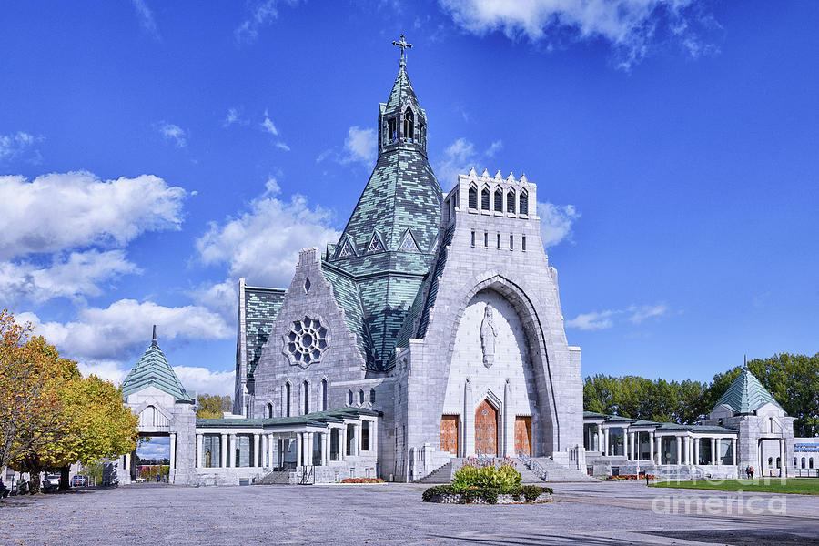 Notre Dame Du Cap Basilica Photograph