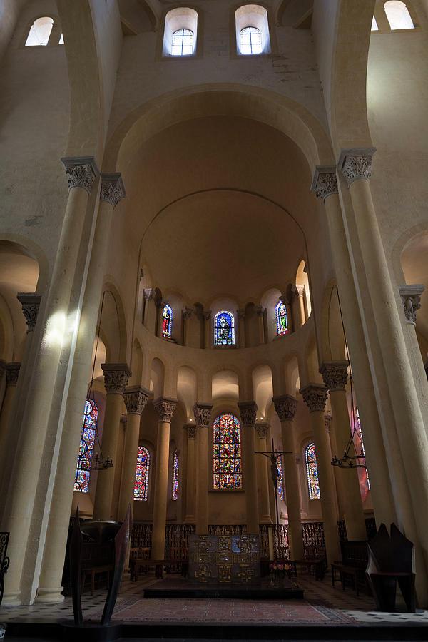 Notre-Dame du Port in Clermont-Ferrand, Choir #3 by RicardMN Photography