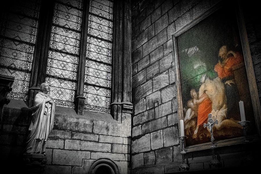Notre Dame, Paris 3 Photograph
