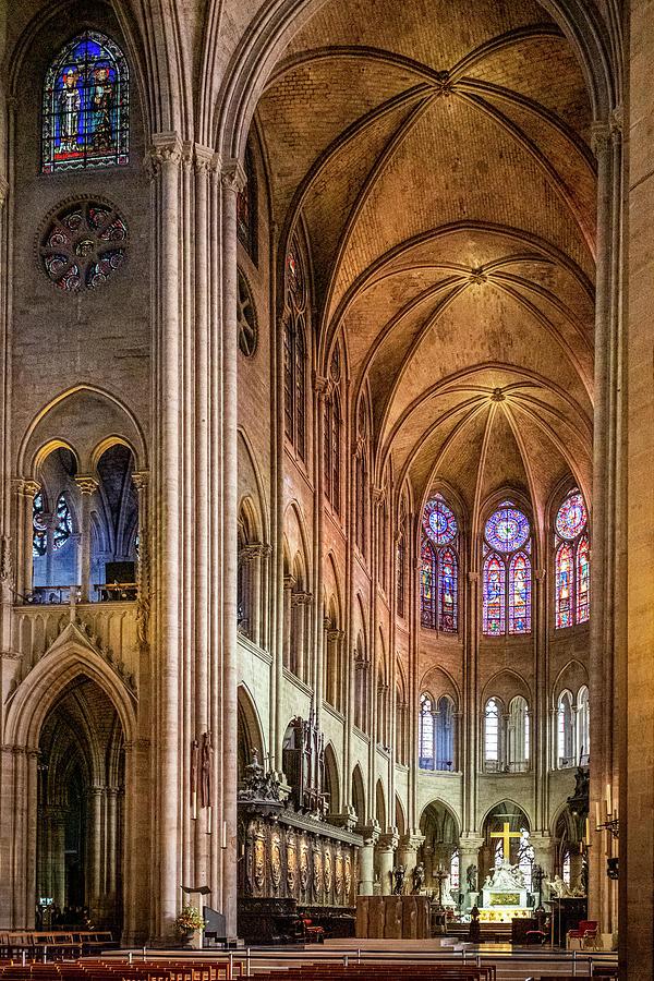 Notre Dame, Paris 9 Photograph