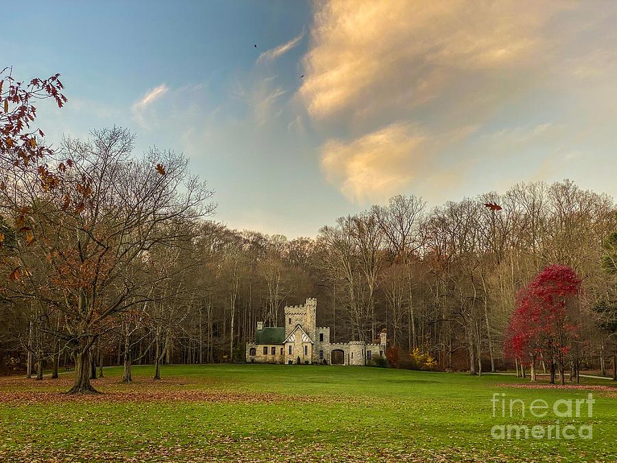 November Castle Photograph