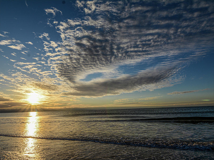 November Sunrise by Dave Hilbert