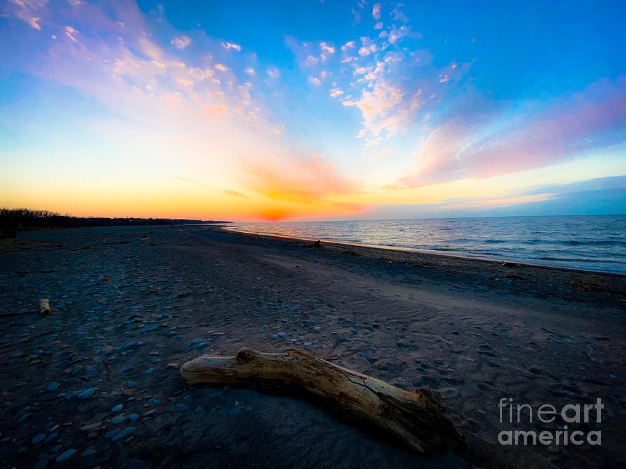 November Sunset Photograph