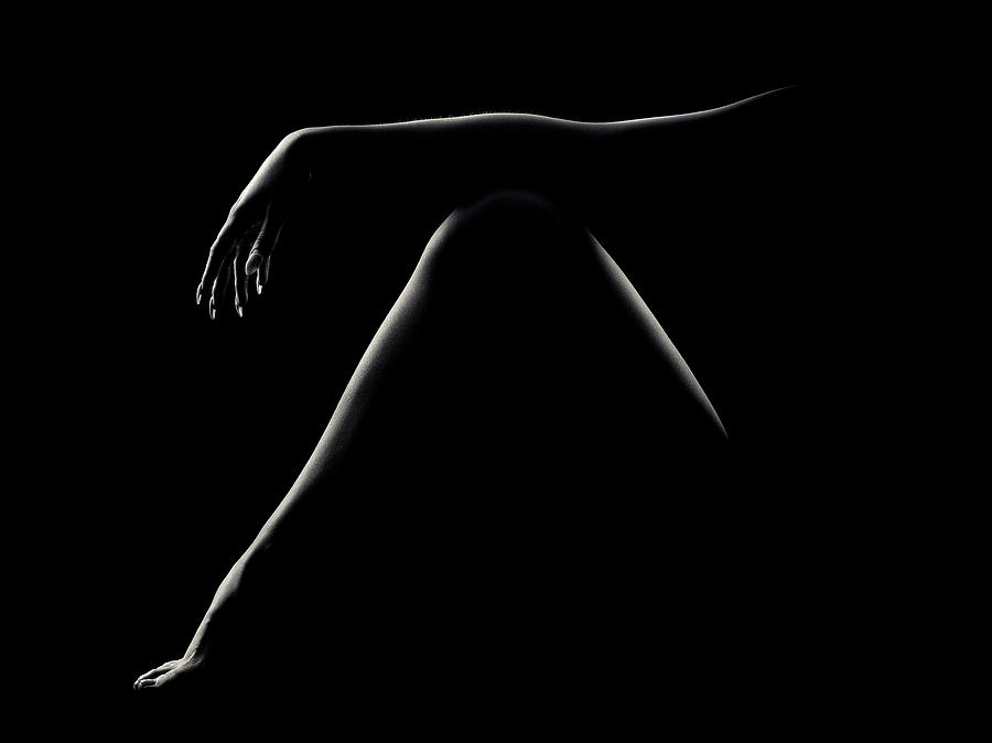 Nude Woman Bodyscape 51 Photograph
