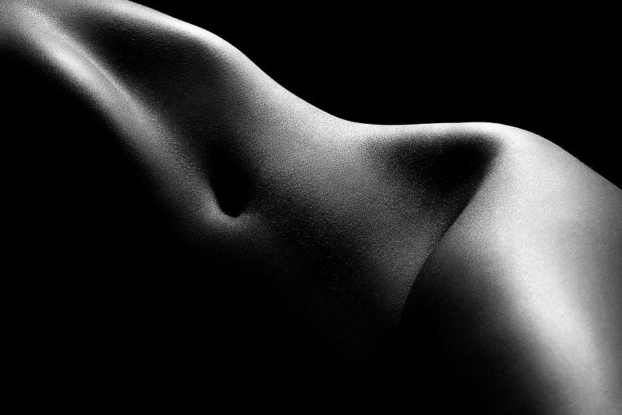 Nude woman bodyscape 52 by Johan Swanepoel