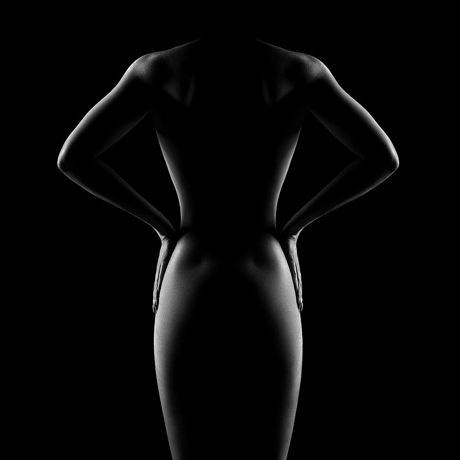 Nude Woman Bodyscape 53 Photograph