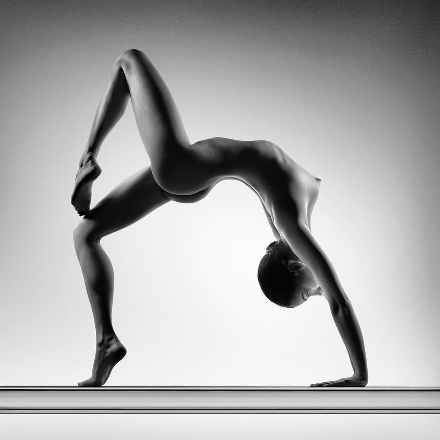 Nude woman fine art 8 by Johan Swanepoel