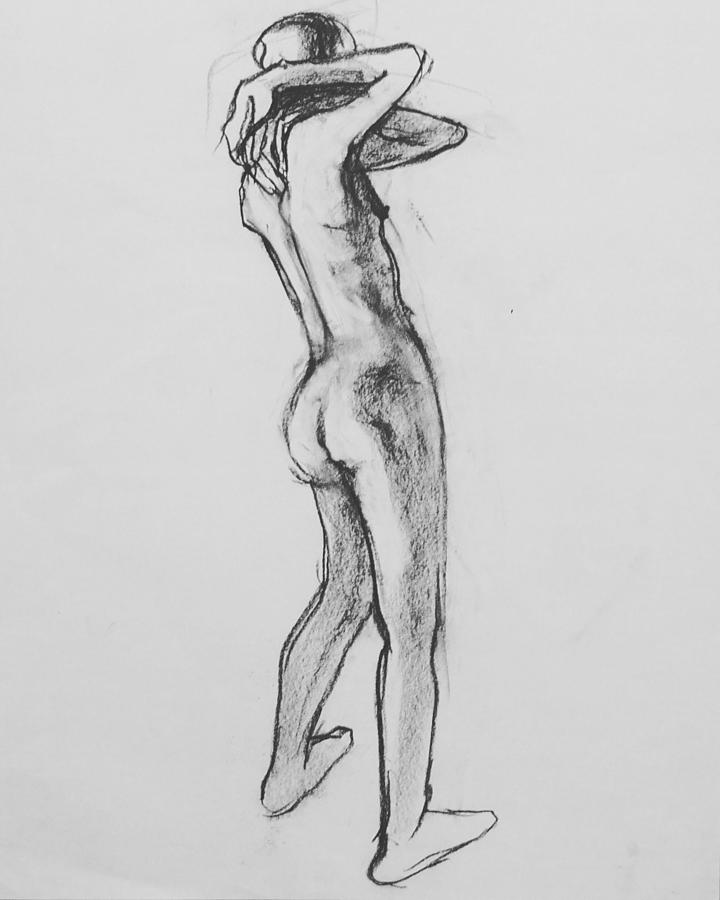 Nude Woman Photograph - Nude Woman VIII by Galya Tarmu