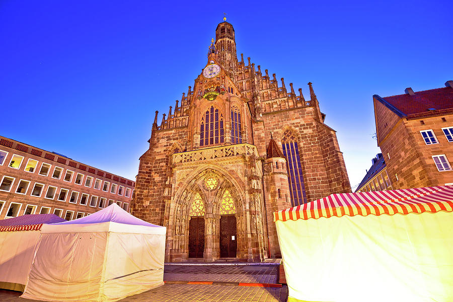 Nurnberg. Church of Our Lady or Frauenkirche in Nuremberg main s by Brch Photography