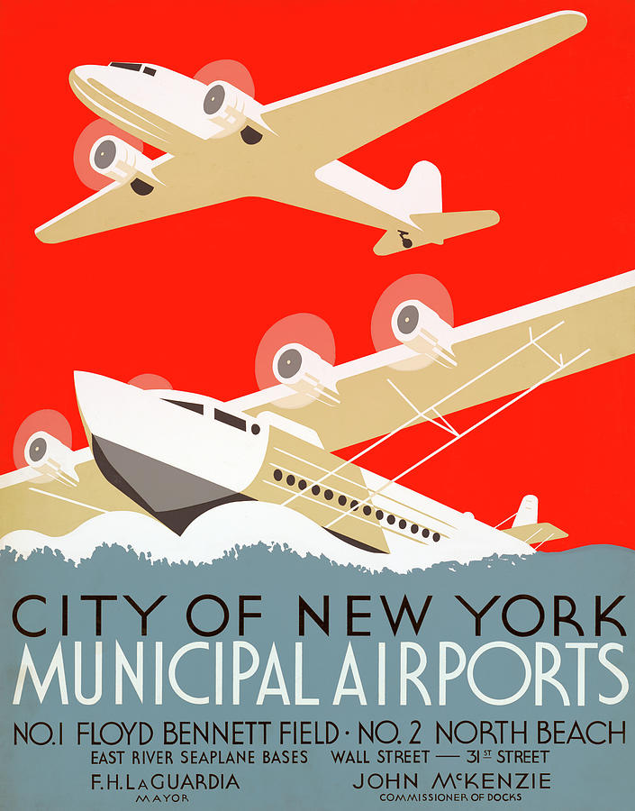 Ny Airport Poster Photograph