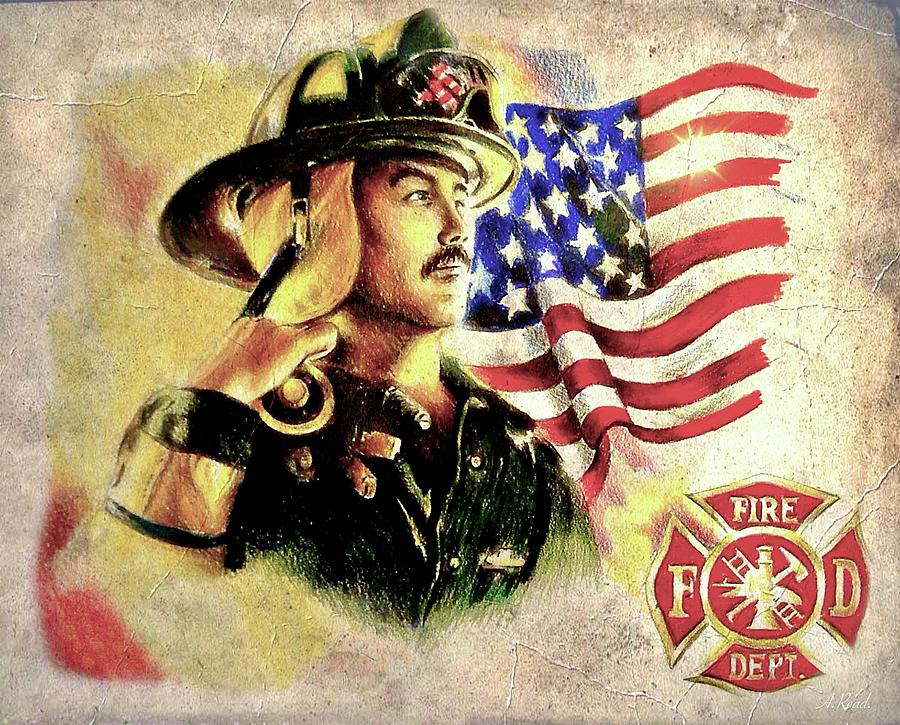 Ny Firefighters Drawing