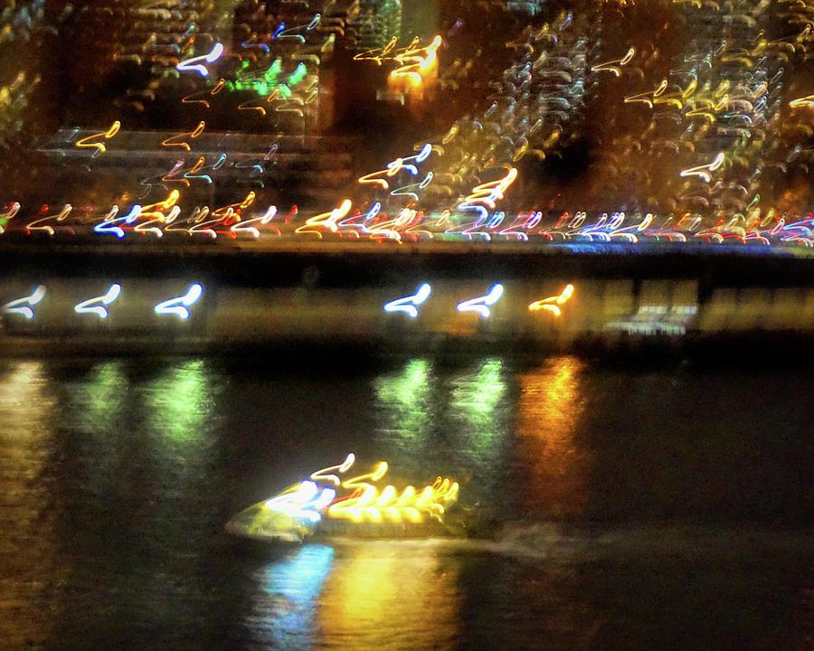 Ny Harbor Lights Photograph