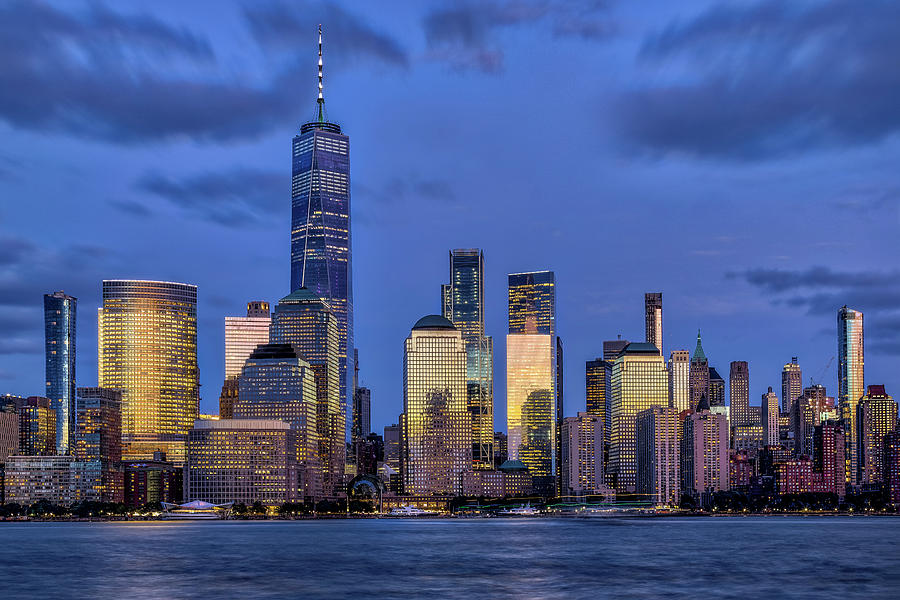 NYC Skyline Twilight by Susan Candelario