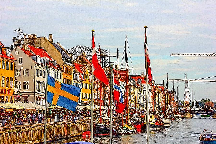 Nyhavn Copenhagen Photograph